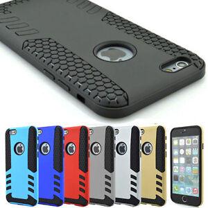Cadeau-Coque-Shockproof-Armure-Luxe-iPhone-Samsung-Hybride-Rugged-Case-Antichoc