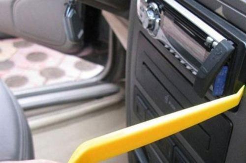 4pcsx Car Removal Open Tools Door Clip Kit Panel Radio Trim Dash Audio Installer