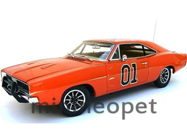 autoworld amm964 dukes of hazzard general lee 1969 69. Black Bedroom Furniture Sets. Home Design Ideas