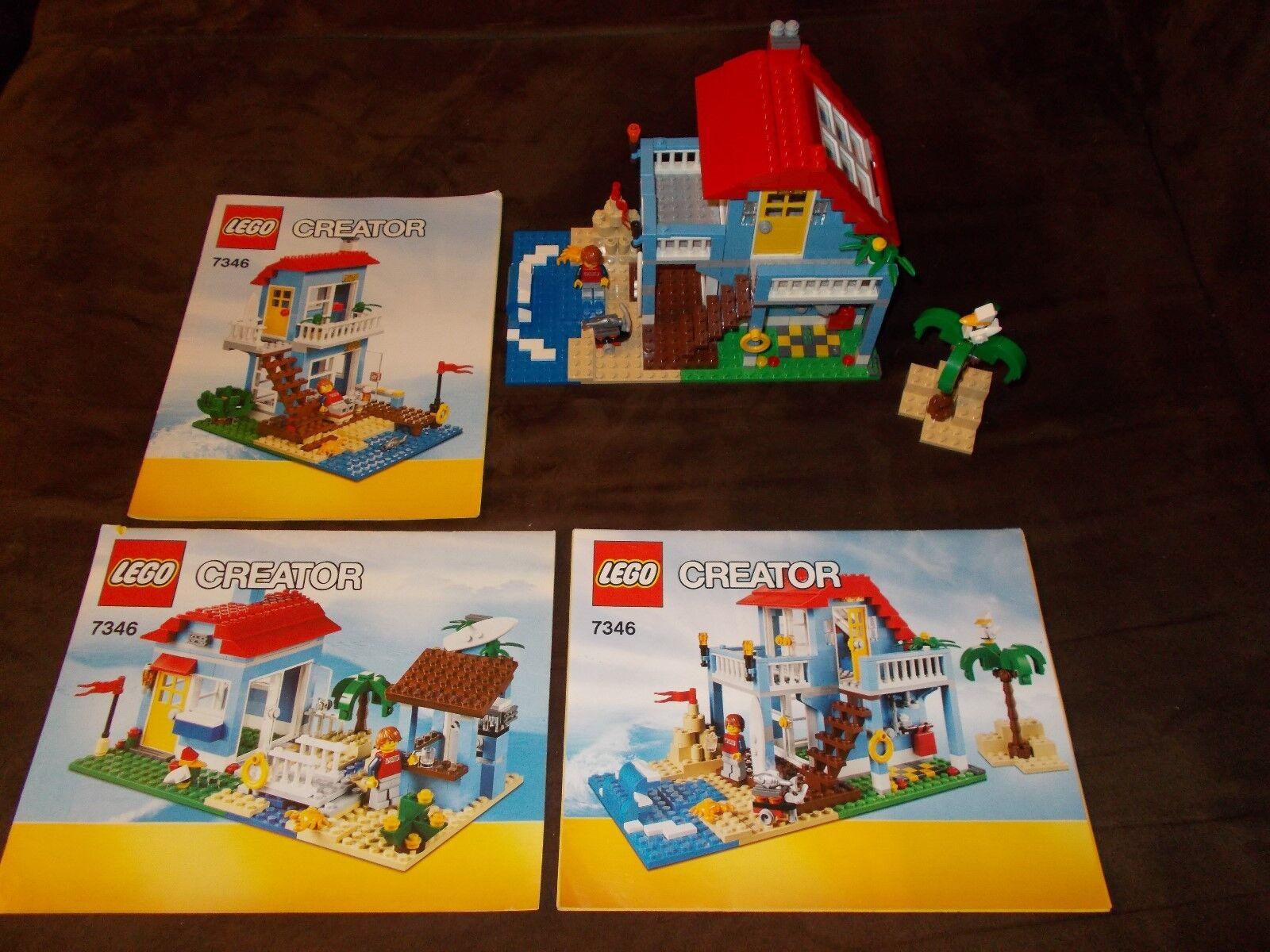 Lego® Creator - 7346 - Strandhaus Strandhaus Strandhaus (3 in 1 Set) - mit OVP und BA 7d16e8