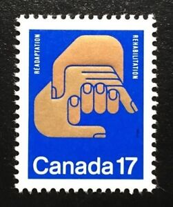 Canada-856-MNH-Helping-Hands-Stamp-1980
