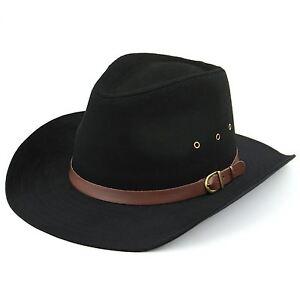 Caricamento dell immagine in corso Cappello -da-cowboy-Hawkins-nero-beige-larga-tesa- f38f6091cccc