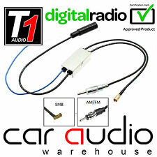 DAB+ AM FM Radio SMB Aerial Antenna Splitter for Kenwood Car Stereo CT27AA136