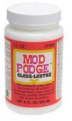 Plaid Mod Podge Decoupage Gloss-Lustre Finish 8oz CS11201
