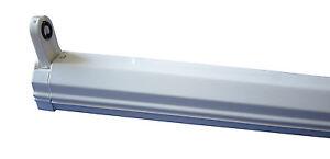 lichtleiste leuchtstofflampe evg leuchte leuchtstoffr hre neonlampe licht r hre ebay. Black Bedroom Furniture Sets. Home Design Ideas
