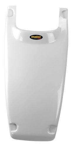 NEW HONDA TRX250R WHITE PLASTIC STOCK TYPE SMOOTHY HOOD TRX 250R PLASTICS