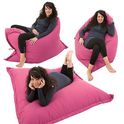 Giant Bean bag 4 in 1 Floor Cushion Chair Bed Lounger BeanBag Kids Outdoor Gilda