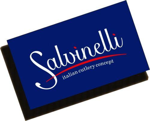 Salvinelli 4326PRO Tablett oval Edelstahl 25 x 18 cm Serviertablett