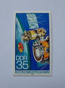 DDR Interkosmos 1978 35 Pfennig(**) mit Plattenfehler Mi 2312 III