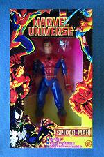 10 INCH SPIDER-MAN PETER PARKER MARVEL UNIVERSE COMICS DELUXE FIGURE TOYBIZ 1997