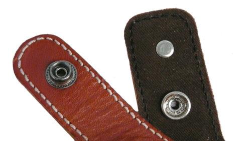 Para pistola universal marrón zurdo con cierre 9mm//7,65 mm-cuero