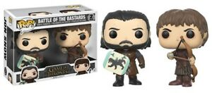 "JON SNOW & RAMSEY BOLTON ""BATTLE OF BASTARD""- Funko Pop Game of Thrones - 2 pack"