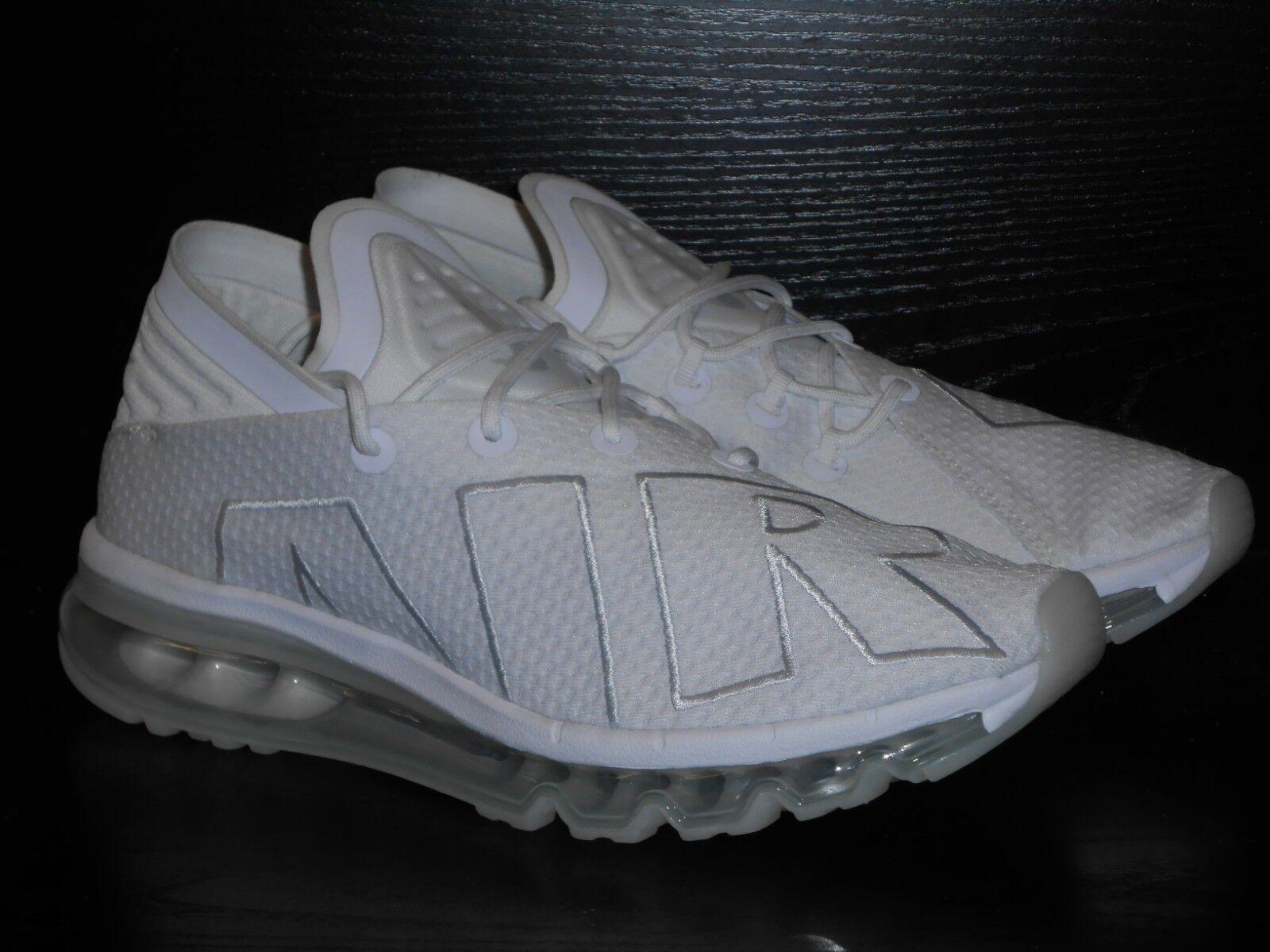 Nike Air Max Max Max Flair   Herren Running Trainer Schuhe Größe 6 Weiß  /- Run 29c9ab