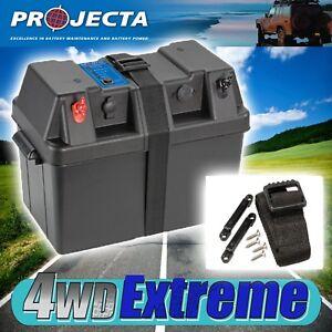 PROJECTA-BPE330-BATTERY-BOX-AGM-DEEP-CYCLE-100AH-130AH-DUAL-SYSTEM-12V-120AH-LED