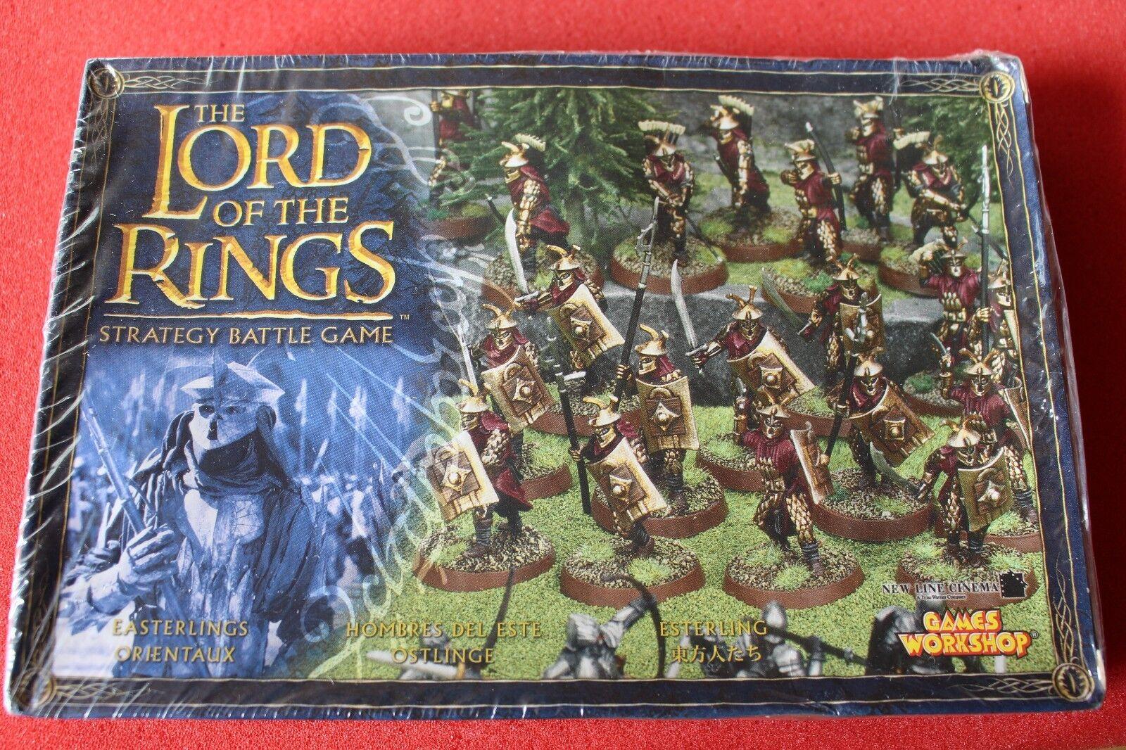 Games Workshop LoTR Lord of the Rings Easterling Warriors 20 Models BNIB New