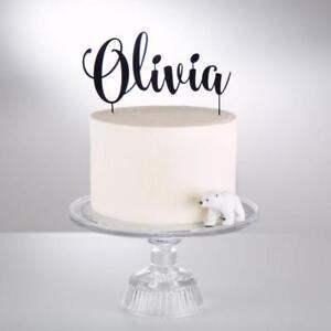 Amazing Customized Cake Topper Personalized Name Happy Birthday Cake Funny Birthday Cards Online Benoljebrpdamsfinfo