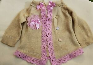 New-Jacket-IN-Shabby-Style-For-Approx-17-11-16-19-11-16in-Bears-Or-Doll