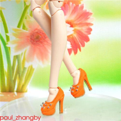Shoes for obitsu ob27~21cm body /& Fashion royalty FR DG poppy parker orange