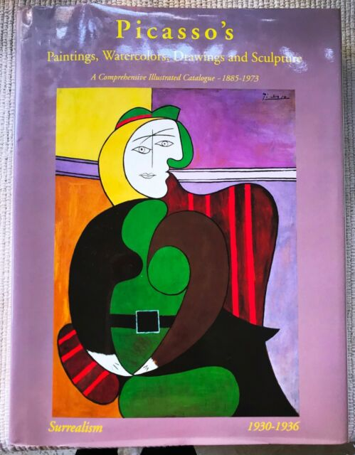 Picasso's Paintings, Watercolors, Drawings and Sculpture/ 1st Ed/ 1997