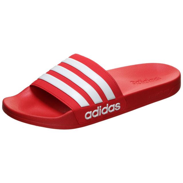 adidas Adilette Shower Badelatschen Badeschuhe SANDALEN SCHUHE Scarlet AQ1705
