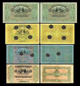 Norway-2x-1-50-Edition-speciedalere-trondhjem-1865-1877-reproduction-11