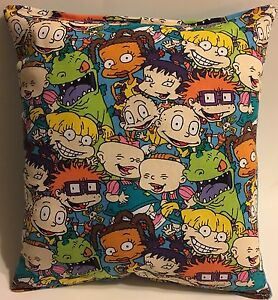 Rugrats-Pillow-Grouped-Rugrats-Rare-Pillow-Handmade-in-USA