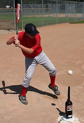One Dozen Plastic Dimpled Baseballs For Hit Zone Air Tees
