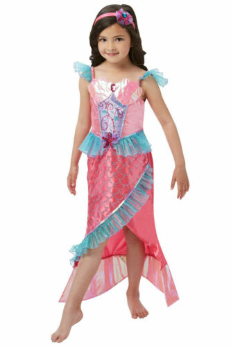 Book Week Fancy Dress Costume Outfit Girls Deluxe Mermaid Princess