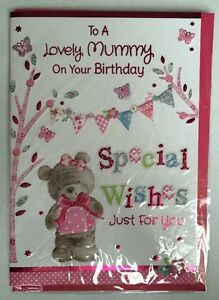 JOBLOT 6 X To A Lovely Mummy On Your Birthday  Special Wishes Just For You Card - Bristol, Bristol, United Kingdom - JOBLOT 6 X To A Lovely Mummy On Your Birthday  Special Wishes Just For You Card - Bristol, Bristol, United Kingdom