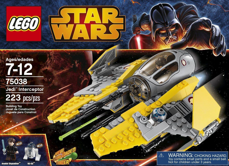 LEGO stjärnornas krig Jedi -Interceptor 7538 Ny hämnd på Sith Anakin Skypromänader
