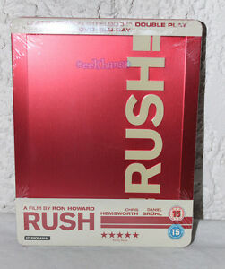 NEW-Rush-Zavvi-Exclusive-Blu-Ray-And-DVD-Steelbook-UK-Import-Region-B-Locked