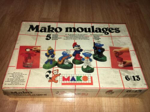 MAKO MOULAGES Les Schtroumpfs - I PUFFi - SMURFS Smurfen BRAND NEW NEU NEUF