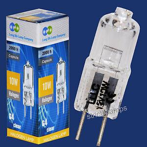 20-x-G4-Halogen-Light-Bulbs-Lamps-12v-10watt-LOOK-4-99
