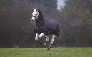 Details About Masta Zing 450g Super Heavyweight Fixed Neck Combo Winter Horse Turnout Rug