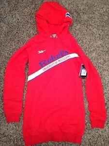 Details about NWT Nike Vault Ole Miss Rebels Womens Long Boyfriend Hoodie Sweatshirt *XS*