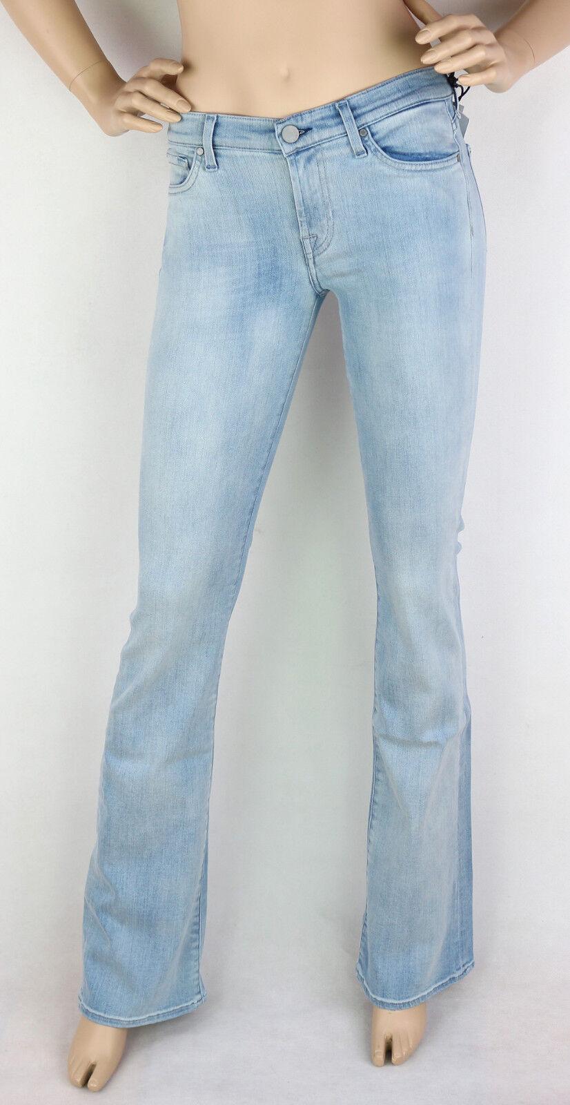 7 for all mankind Jeans Skinny Stiefelcut SlilliBayCor Light Blau W25