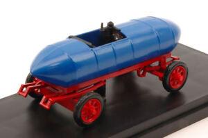 Jenatzy 'jamais Content' 1899 Première voiture électrique Torino Museum Blue 1:43 Model