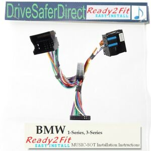 MUSIC-SOT-0442-AM-n-Ready2Fit-Handsfree-Music-Kit-lead-for-BMW-3-Series