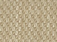 Vinyl Boat Carpet Flooring W/ Padding : Gemstones - 01 Tan / White : 8.5' X 7'