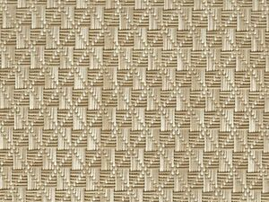 Vinyl Boat Carpet Flooring w/ Padding : Gemstones - 01 Tan / White : 6' x 10'