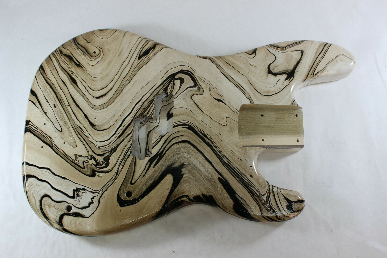 MultiFarbe swirl painted poplar P bass guitar body - fits fender necks J111