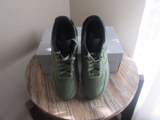 NIB Nike Men's Air Force 1 '07 Palm Green/Palm Green Black Basketball Shoe Price reduction