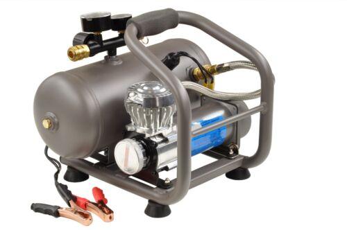 12V Kompressor Abgabe 60L//min Druckluftkompressor Druckluft mit 5L Kessel 00979