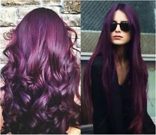 Berina Permanent Hair Dye Color Cream No A14 Dark Brown Violet
