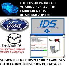 FORD IDS 2017 VERSION NUEVA 104.02 + C81 CALIBRATION FILES DOWNLOAD VERSION