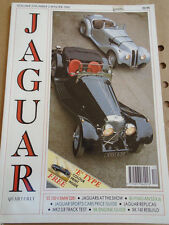 Jaguar Quarterly Winter 1990 SS100 vs BMW 328, S3 XJ6 guide, MK2 3.8
