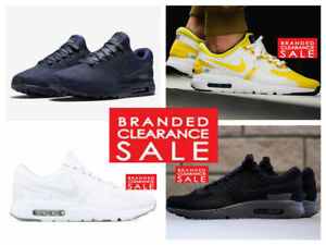 896424943d BNIB New Men Nike Air Max Zero QS Black White Obsidian Trainers Size ...