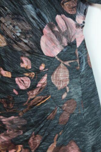 Batwing Knee Phase Vestito Sleeves Uk10 Print Eu38 casual Length Windsor 3 4 Eight zqYr0qXT