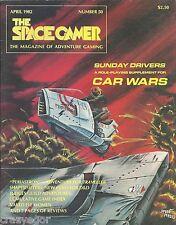 Spacegamer #50 Sunday Drivers for Car Wars, Naked Elf Women, Traveller, D&D