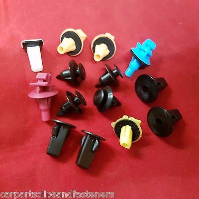 PEUGEOT Trim Panel Fastener Wheel Arch Side Molding Plastic Flare Clips